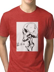 Laughing Skull Tri-blend T-Shirt