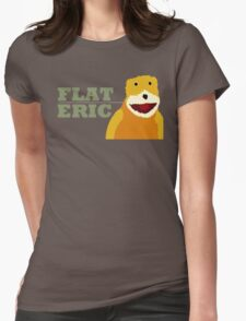 Flat Eric  Womens Fitted T-Shirt
