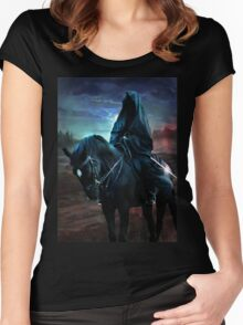 Nazgul on the hunt Women's Fitted Scoop T-Shirt