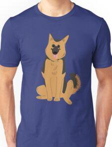 Alsatian / German Shepherd Dog Unisex T-Shirt