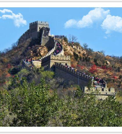 万里长城 GREAT WALL OF CHINA 万里长城  VARIOUS APPAREL Sticker