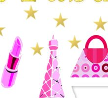21 AND FABULOUS PARIS DESIGN Sticker