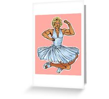 Marilyn!Kanji Greeting Card