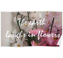Flower quote Poster