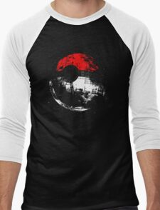 poked to death,Pikachu Men's Baseball ¾ T-Shirt