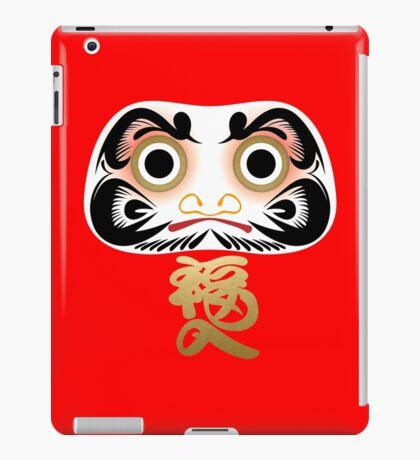 Luck & Good Fortune Daruma iPad Case/Skin