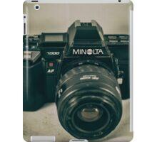 Minolta 7000 iPad Case/Skin