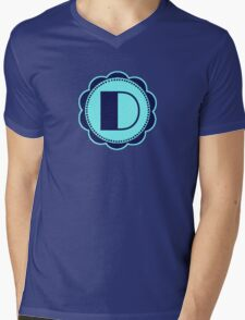 Broadway D Mens V-Neck T-Shirt
