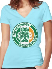 Conor Mcgregor Women's Fitted V-Neck T-Shirt