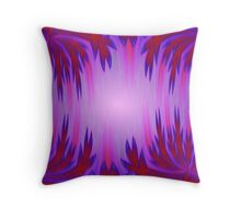 Magenta Forest Throw Pillow