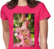 Tickled Pink Womens Fitted T-Shirt