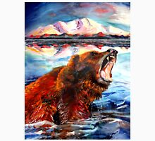 Grizzly Bear Painting Unisex T-Shirt