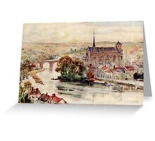 Herbert Menzies Marshall - Poitiers Greeting Card