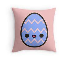 Happy Easter egg Throw Pillow