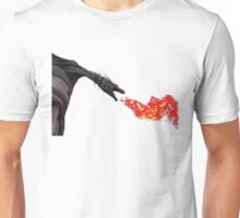 Fire Breathing Dragon Unisex T-Shirt