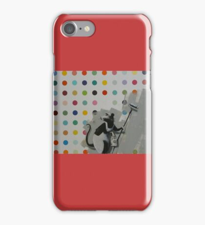 Banksy Does Damien Hirst iPhone Case/Skin