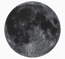 Lunar, MOON, Lunatic, Cosmos, Cosmic, Space, Near side of the Moon. Kids Tee