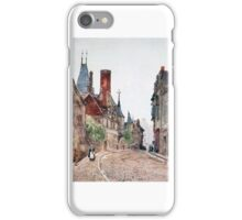 Herbert Menzies Marshall - The Musée Cujas, Bourges  iPhone Case/Skin