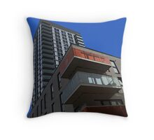 I live in a box! Throw Pillow