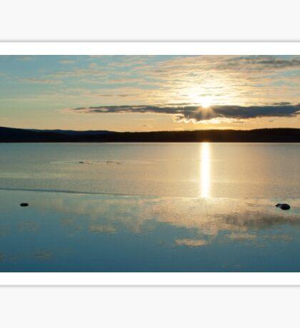 Lochindorb Sunset Sticker