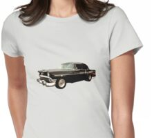 Stormy Chevy at Roy's on Route 66 Womens Fitted T-Shirt