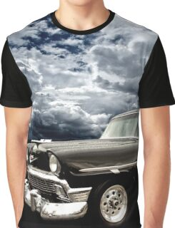 Stormy Chevy at Roy's on Route 66 Graphic T-Shirt