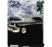 Stormy Chevy at Roy's on Route 66 iPad Case/Skin