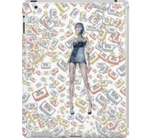 London Club Scene Punk Rock Girl  iPad Case/Skin