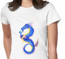 Rainbow Sky Dragon Womens Fitted T-Shirt