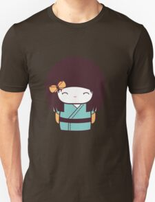 Cute Kokeshi Doll - 2 Unisex T-Shirt