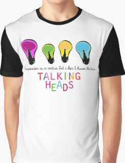 Talking Heads  Graphic T-Shirt