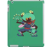 False frog iPad Case/Skin