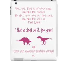 curse your sudden but inevitable betrayal, firefly, fuchsia iPad Case/Skin