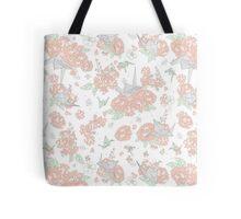 Origami Floral Tote Bag