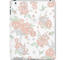 Origami Floral iPad Case/Skin