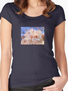 Fresh blossoms Women's Fitted Scoop T-Shirt