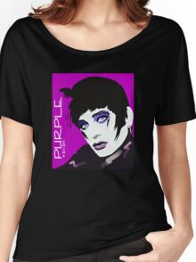 PURPLE Women's Relaxed Fit T-Shirt