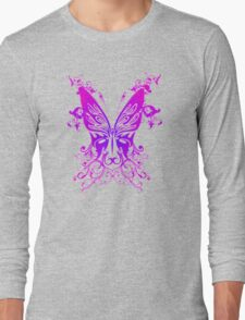 Purple and Pink Butterfly T-Shirt