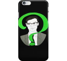 Edward Nygma Riddler iPhone Case/Skin