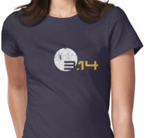 Simple 3.14 Pi GRUNGE Womens Fitted T-Shirt