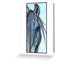 Dee Dee the Grey comes home Greeting Card