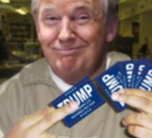 just activated my tump card Sticker