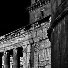 PANTHEON DETAIL WITH MORE THAN A NOD TO PIRANESI by Thomas Barker-Detwiler