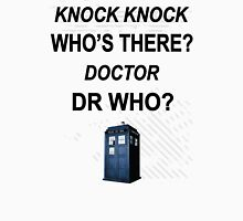 knock knock dr who for light colored shirts Unisex T-Shirt