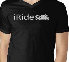 iRide Mens V-Neck T-Shirt
