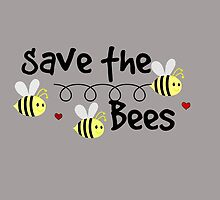 Save the Bees, Whimsical,Digital   by Sunshinegirl95