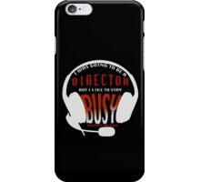 Stay Busy - SM Edition - Blacks iPhone Case/Skin
