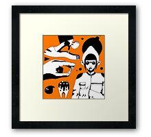 Bubblegun Framed Print