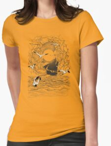 Before the Storm Womens Fitted T-Shirt
