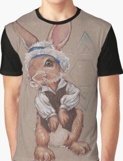 Hanukkah Harry the Rabbit Graphic T-Shirt
